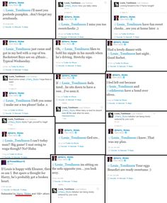 Larry Stylinson tweets (not sure if all of these are real)