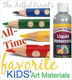 The 25 Best Kids Art Materials!