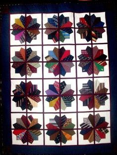 """REMEMBER YOUR MEN:  Memory quilt made of men's neckties (79"""" x 101"""").  <3  GRIEF SHARE:  Plantation United Methodist Church, 1001 NW 70 Avenue, Plantation, FL  33313.  (954) 584-7500."""