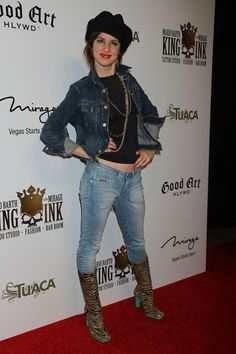 Juliette Lewis at The Switch premiere