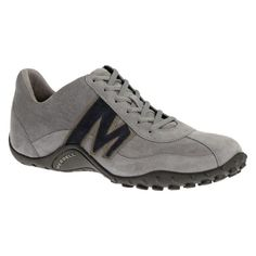 Merrell-Sprint-Blast-Suede-Mens-Trainer-Shoes-Grey-Stone