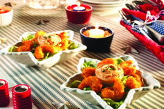 Firecracker Shrimp Dippers - (just like Bang Bang Shrimp!) pair with a colorful veggie for a delicious dinner!