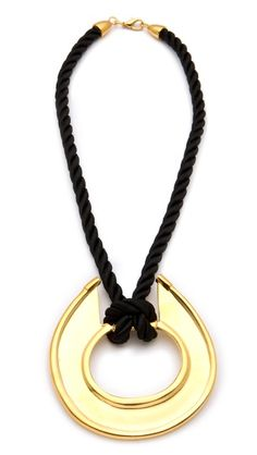 Kenneth Jay Lane Necklace. ON SALE at Shopbop. Extra 20% off sale with code: EXTRAOFF. Only $24!