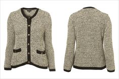 Topshop #Tweed Tipped #Jacket.  #fall
