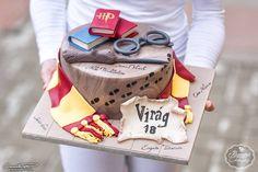 """Potter torta - Potter cake Kézműves Tortaműhely-Buzás Ági (@kezmuvestortamuhely): """"⚡ #harrypotter #harrypottercake #cake #wizard #wizardcake @czakobalazsfotografia"""""""