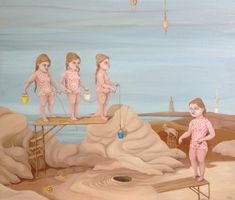 Monica Gredmark Fine Artist — re.riddle Two Girls, Art Fair, Oil On Canvas, Boy Or Girl, Art Photography, Disney Characters, Fictional Characters, Art Gallery, Museum