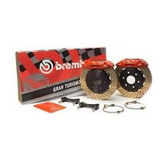 Brembo 1B4.7001A-Red 740 GT 4 Piston Big Brake Kits. Built for the (87-94) BMW 740 (BMW)... Brembo Gran Turismo Systems are excellent for stopping power in everyday traffic, as well as superior high performance street and track driving. They are designed to bolt onto the vehicles original suspension, and are fully compatible with the vehicles stock brake master cylinder and anti-lock braking system (ABS).While most Brembo Gran Turismo Brake System packages have been developed specifically to…