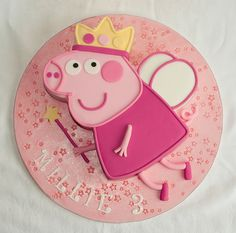 These cute and special Peppa pig cakes were made by different people from around the world. Tortas Peppa Pig, Bolo Da Peppa Pig, Peppa Pig Birthday Cake, 3rd Birthday, Torta Minion, Aniversario Peppa Pig, Thomas Cakes, Pig Party, Cupcake Cakes