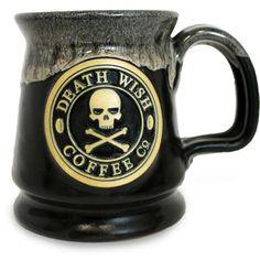 Death Wish Coffee Mug Valhalla Java Black