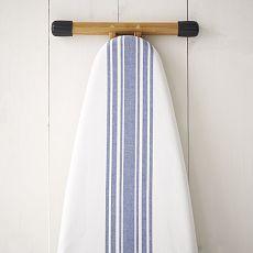 Cotton Ironing Board Cover - Café Stripe