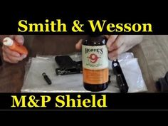 This is a video on how to clean your Smith and & Wesson M&P Shield. This video applies to both and caliber Shields. Both guns break down the same. Smith And Wesson Shield, Smith N Wesson, M&p Shield 40, M&p 9mm, Military Guns, Guns And Ammo, Love To Shop, Concealed Carry, Hand Guns