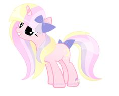 Sugar Moon. Loves loves candy and any kind of sugary snack. She's is a little jumpy though