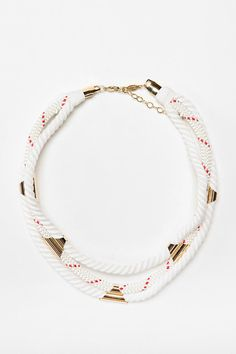 a.v. max 3-Row Nautical Necklace  #UrbanOutfitters
