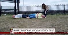 Couple's Attempt At 'Dirty Dancing' Lift Is A Hilarious Epic Fail