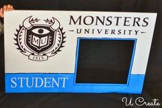 Make your very own #MonstersUniversity Student ID Card!