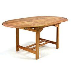 Awesome DIVERO GL Ovaler ausziehbarer Gartentisch Esstisch Balkontisch Holz Teak Tisch f r Terrasse Balkon Wintergarten witterungsbest ndig behandelt