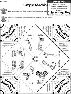free science cootie catchers - Google Search
