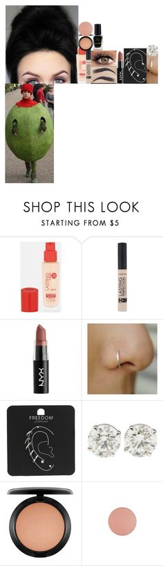 """""""Dress party / Angus, thongs and perfect snogging // 2008"""" by fuckmeirwin ❤ liked on Polyvore featuring Rimmel, NYX, Topshop, MAC Cosmetics and Barry M"""