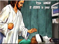 Free Christian Wallpapers: Jesus The Healer