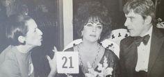 DV with Liz Taylor and Sen. John Warner, Diana Vreeland, Elizabeth Taylor, Beautiful