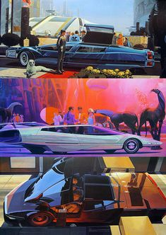 Syd Mead. Engineer designer, and artist. Designed all special effects in Blade Runner.