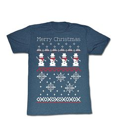 Take a look at this Navy 'Merry Christmas' Tee - Men by American Classics on #zulily today!