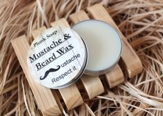 Mustache and Beard Wax by plunksoap on Etsy, $6.50