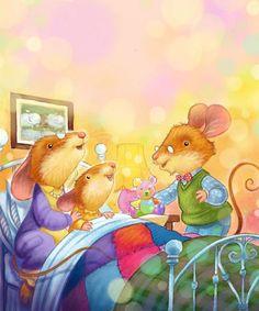 inbed.quenalbertini: Bedtime illustr. by Daniel Howarth