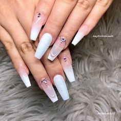 Trendy white nail designs, 21 awesome designs to choose from,and best white nails designs to copy right now