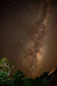 the Milky Way in Australia 南天に輝く天の川、オーストラリア