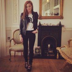 // Pinterest @esib123 //  #style #inspo #fashion #outfit leather jacket