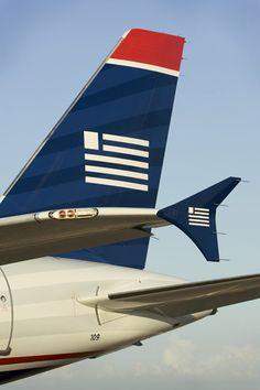 US Airways tail w/ winglet