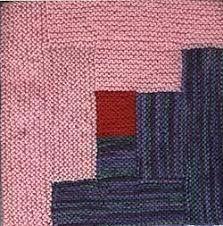 Resultado de imagen de log cabin knit