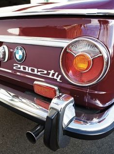 BMW   2002 - the first car I specifically remember when I was 2 years old my parents friends George and Rita had one - SFREsource.com #bmwvintagecars