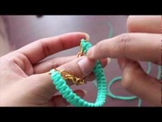 This is a very cool idea to make a bracelet.