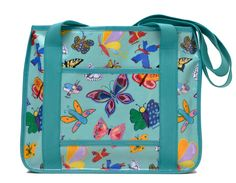 Check out our new Butterflies Product Line available in Holiday 2013! Includes: apron, pot holder, towel, oven mitt, insulated lunch bag and tote bag!