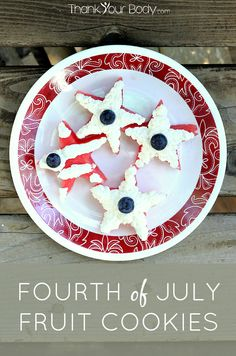 4th of july swirl cookies