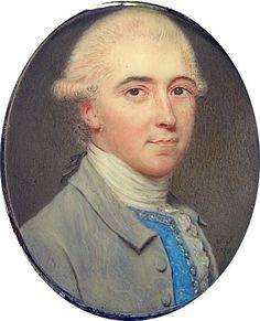 Dated 1778, England.  Thomas Foley, 2nd Baron Foley by John Smart (1742-1811)