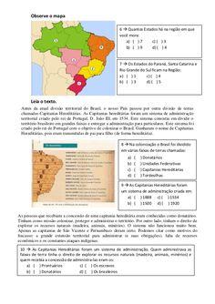 Ii atividade avaliatíva de geo 4º e 5º ano pdf