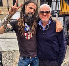 Rob Zombie and Malcolm McDowell