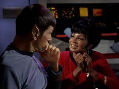Spock & Uhura #Love