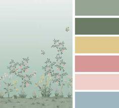 Colores 4 diseño #Chinella de #SophiaPega