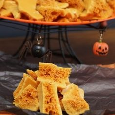Sponge Toffee for Halloween by NoshingwTheNolands