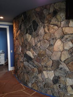 Radial Stone Wall