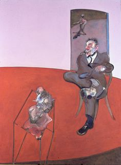 FRANCIS BACON    Two figures Lying on a Bed with Attendants, 1968    Right panel    Oil and pastel on canvas    Dimensions  Each panel: 198 x 147.5 cm    Collection  Tehran Museum of Contemporary Art