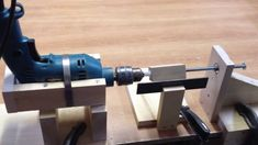 homemade wood lathe