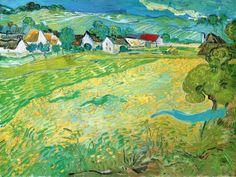 Sunny Meadow in Arles, c.1890 Art Print at AllPosters.com