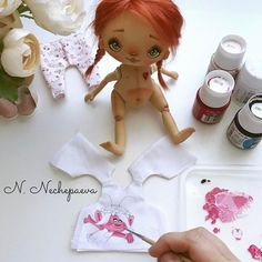 50 оттенков розового ... #процессы#тролли#пижамы#одеждадлякукол