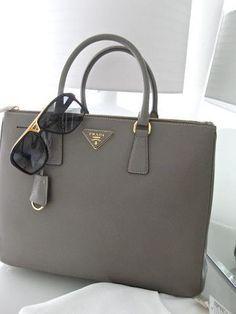 Grey Prada White S It Not Just A Bag