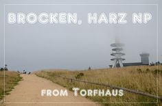 Brocken - the highest mountain in northern Germany